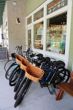 Bald Head Island offers 15 miles of roadway to ride. Bike rentals are available by the hour, day or week.