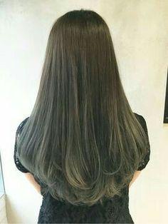 29 Ideas Hair 2018 Trends Perm For 2019 Long Layered Hair, Long Hair Cuts, Medium Hair Styles, Natural Hair Styles, Long Hair Styles, Hair 2018, Ombre Hair, Wavy Hair, Hairstyles Haircuts
