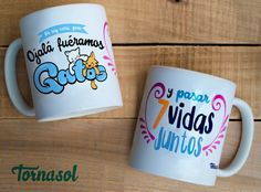 Taza de ceremica :) #cup #taza #love #amor #gatos #cats