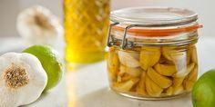 Maslinovo ulje od belog luka