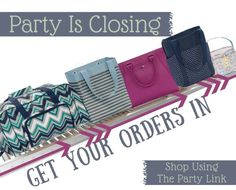 Fall 2015 thirty one gifts party is closing