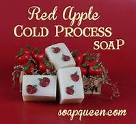 Red Apple Cold Process Soap
