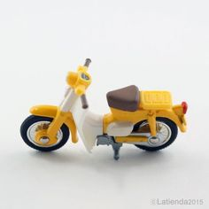 #TAKARATOMY #Tomica #6 #Honda Little Cub #Bike #Toy