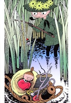 The Imaginative world of Tove Jansson Art And Illustration, Illustrations Posters, Moomin Cartoon, Moomin Books, Moomin Valley, Tove Jansson, Cute Characters, Retro, Art Inspo