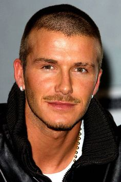 The soccer stud attends the launch of the David Beckham Soccer video game on November 22, 2001.