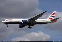 G-VIIE British Airways Boeing 777-200