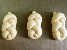 パンの成形法 トリプルノット型の画像