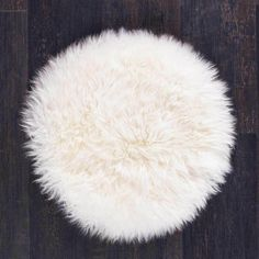 The Wool Company Seat Pads, Chair Pads, Round Chair, Cushion Pads, Bar Stools, Boho Chic, Ivory, Wool, Bar Stool Sports