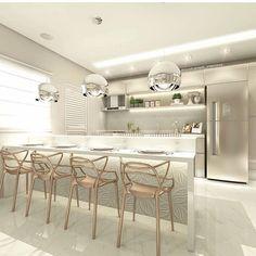 #mulpix Essa cozinha ficou um luxo!!!! By Carol Cantelli Veja mais…