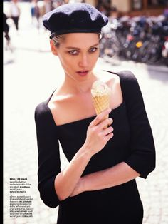 Paris C'est Chic! - Numéro China September 2014 Hana Jirickova by David Bellemere