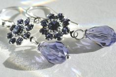 Tanzanite Crystal Flowers