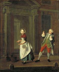 Edward Penny, A City Shower (1764)