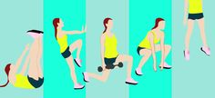 This three-in-one workout hits all the hot spots in one simple, effective circuit.
