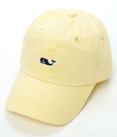 2a04d5210 Vineyard Vines Signature Whale Logo Baseball Hat- Lemonade from Shop  Southern Roots TX