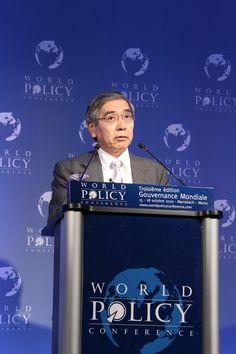 WPC 2010, Marrakech - Haruhiko Kuroda, President, Asian Development Bank
