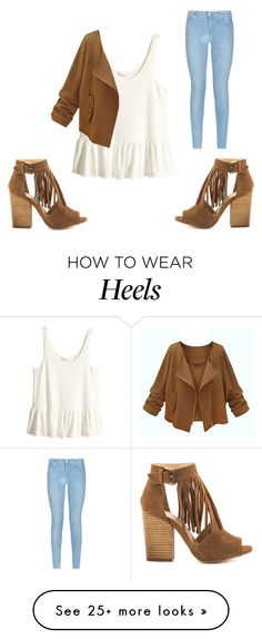 """""""Untitled #1120"""" by kiky-miskovic on Polyvore featuring 7 For All Mankind, Chinese Laundry and H&M"""