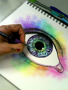 Eye see your true colors by artisticalshell on deviantART