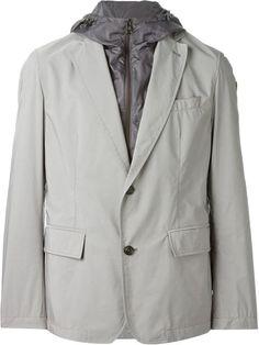 MONCLER Layered Lightweight Blazer. #moncler #cloth #blazer