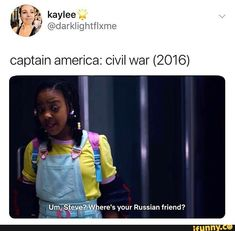 Picture memes 1 comment — iFunny - Marvel Universe - Marvel Universe Marvel Universe - Anime Characters Epic fails and comic Marvel Univerce Characters image ideas tips Funny Marvel Memes, Dc Memes, Marvel Jokes, Avengers Memes, Marvel Avengers, Funny Memes, Hilarious, Captain America Civil War, Captain America Funny