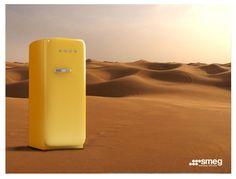 Smeg-Refrigerator. Advertising by Mohammadreza Faghihi, via Behance