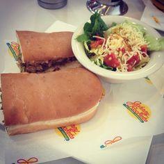 Photo Credit: @Raghav Chhabra Modi via Instagram #JohnnyRockets #BYOB #hamburgers #AllAmerican #lunch #dinner #eat #customhamburgers #shakes #fries #onionrings #desserts #sandwich #burgers