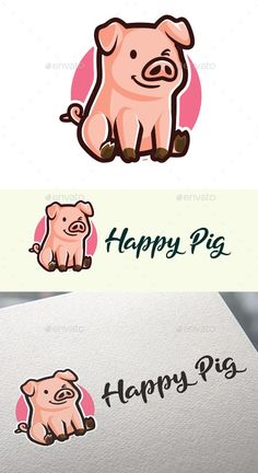 Cartoon Happy Pig Mascot Design - Animals Logo Templates Get it now!! #logo #designlogo #logos #logodesign #logopremium #brand #branding #business #company #abstract #creative #mascot #designoflogo #thelogo #thedesign #logotemplate #print #logocompany #logoesport #logoanimal #logoabstract #envato #envatomarket #graphicriver #premiumdesign #creativemarket #freepik #shutterstock #behance #dribbble