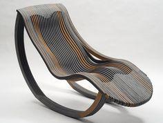 Anathemic chaise longue by Marco Tonci Ottieri Classic Furniture, Furniture Sale, Unique Furniture, Furniture Plans, Cheap Furniture, Luxury Furniture, Wooden Plane, Wood Toys Plans, Art Supply Stores