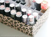 DIY Lipstick Holder | Very Emily