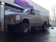 58 Best Lifted Ford Vans Images On Pinterest