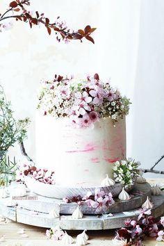 Tarta de Chocolate Primaveral - Spring Chocolate Cake | Recipe from Merceditas Bakery