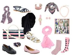 One Dress - 6 Ways, in Navy and Pink