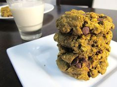 Try these Pumpkin, Peanut Butter, & Chocolate Chip Protein Cookies with IsaLean or IsaLean Pro Vanilla flavors!