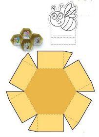 Δημιουργίες από καρδιάς... Bee Crafts, Diy Crafts For Kids, Art For Kids, 1st Birthday Girl Decorations, 1st Birthday Girls, Bee Life Cycle, Fabric Crafts, Paper Crafts, Fall Preschool Activities