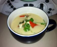 Tom Kha Gai - a Thai chicken and coconut milk soup (Paleo)  | Thermomix Paleo Recipe Competition