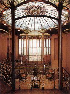 Bilderesultat for hôtel Tassel (1893) de Bruselas