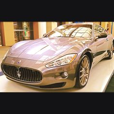 The Maserati Gran Turismo, by Pininfarina. I'll take this in red please :)