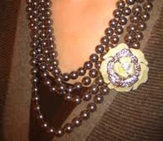 Style Up with Brooch at Women Fashion Models and Designer