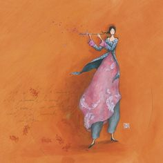 """Gaëlle Boissonnard - one of the images of the 2015 calendar, """"the music of the wind""""."""