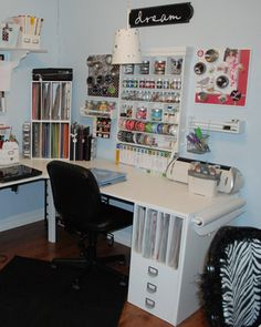 Inspiration To Decorate Your Office, Workshop, Studio, Craft Room