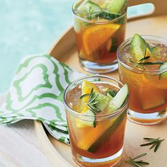 Pimm's Cucumber Cooler | CoastalLiving.com