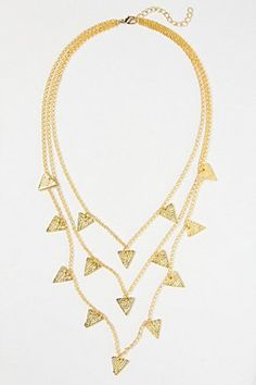 Pivoted Points Necklace | Anthropologie.eu