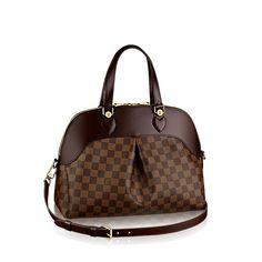 Salvi - Damier Ebene Canvas - Handbags   LOUIS VUITTON