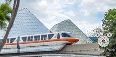 Facebook Cover Photo - Epcot - Future World - Imagination and Monorail