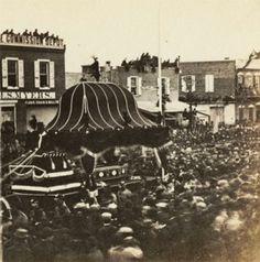 Abraham Lincoln funeral in Philadelphia.