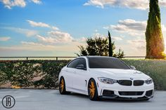 #BMW #F36 #435i #Gran #Coupe #White #Angel
