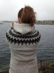 Beautiful Icelandic lopapeysa Fair Isle Knitting, Loom Knitting, Icelandic Sweaters, Cute Cardigans, Student Fashion, Knit Picks, Sweater Design, Diy Clothes, Knitwear