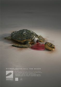 "Surfrider Foundation ""Microplastics kill the ocean"" Clever Advertising, Advertising Archives, Art Director, Creative Director, Foundation, Europe, Ads Creative, In Cosmetics, 3d Artist"