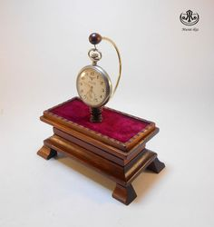 Wooden Pocket watch Stand/Holder Special Design by SpecialWoodwork