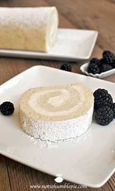 Not So Humble Pie: Whipped Cream Cake Roulade