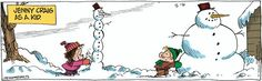 """Jenny Craig's snowman...   - """"Bound and Gagged"""" by Dana Summers;  2/06/12"""